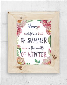 gifts: Kind of Summer Framed Art!