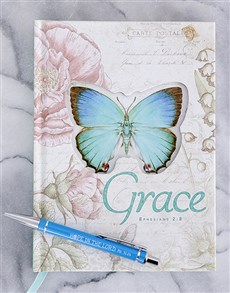 gifts: Grace Journal and Scribbler!