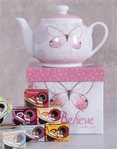gifts: Believe Tea Pot Hamper!