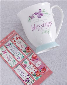 gifts: Blessings Mug Hamper!
