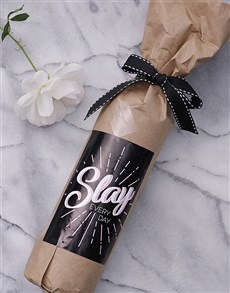 gifts: Slay Wine in Craft Paper!