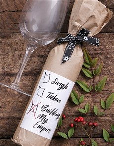 gifts: Empire Wine in Craft Paper!