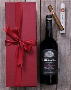 gifts: Allesverloren and Cuban Cigar Giftbox!