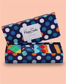 gifts: Colourful Mix Happy Socks Giftbox!