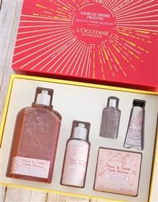 gifts: LOccitane Cherry Gift Box!