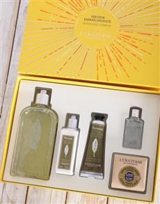 gifts: LOccitane Verbena Gift Box!