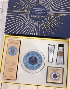 gifts: LOccitane Shea Butter Gift Box!