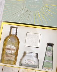 gifts: LOccitane Almond Gift Box!