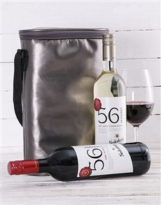 gifts: Silver Double Wine Cooler!
