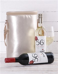 gifts: Gold Double Wine Cooler!