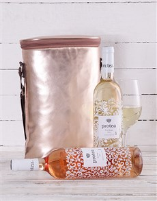 gifts: Rose Gold Double Wine Cooler!