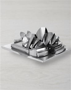 gifts: Metal Earth Sydney Opera House!