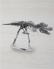 gifts: DIY Metal Earth TRex 3D Model!