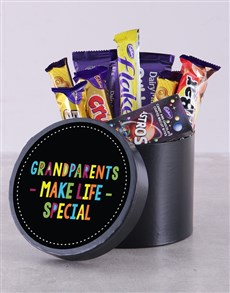 gifts: Grandparents Make Life Special Choc Hat Box!