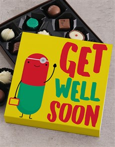 gifts: Get Well Soon Choc Tray!