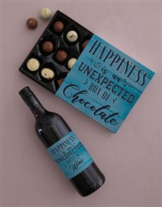 gifts: Happiness Unexpected Choc Tray!