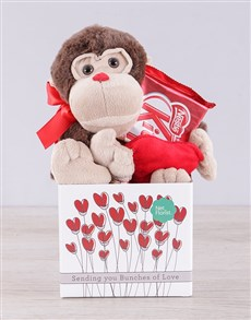gifts: Monkey and Kit Kat Box!
