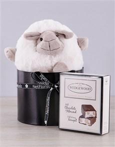 gifts: Sheep and Choc Nougat Box!