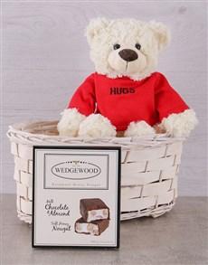 gifts: Teddy Hugs Basket!