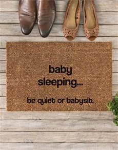gifts: Be Quiet Doormat!