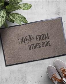 gifts: Hello Doormat!
