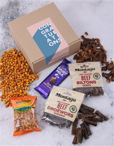gifts: Congratulations Biltong Box!
