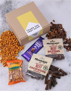 gifts: Thanks Very Much Biltong Box!