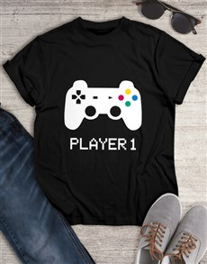 gifts: Player 1 Long Sleeve Tshirt!