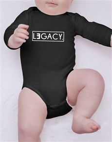 gifts: Legacy Baby Onesie!