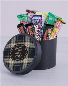 gifts: Beloved Dad Chocolate Hat Box!