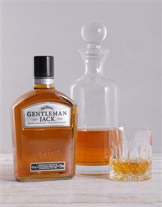 gifts: Gentleman Jack and Decanter Hamper!