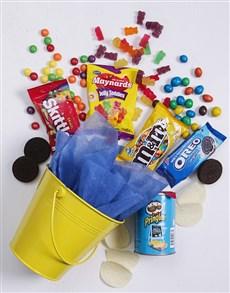 gifts: Yellow Bucket of Sweet Treats!