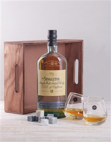 gifts: Singleton and Rocking Tumblers Crate!