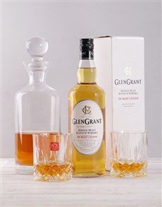 gifts: Glen Grant and Decanter Giftbox!