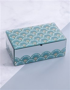 gifts: Glam Mirror Trinket Box Large!