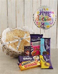 gifts: Happy Birthday Cadbury Choc Hamper!