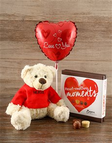 gifts: Nuts about you Teddy Gift Set!