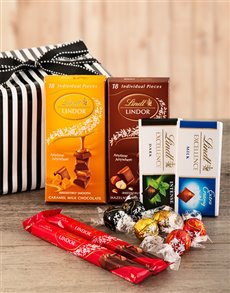 gifts: Chocolate Lindt Delight!