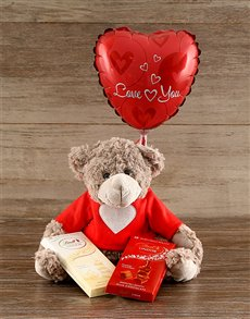 gifts: Love Bear with Lindt Chocolates!