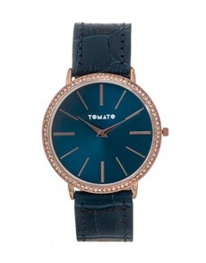 gifts: Navy Quartz Tomato Ladies Watch!