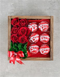 gifts: Sweetie Pie and Rose Love Crate!