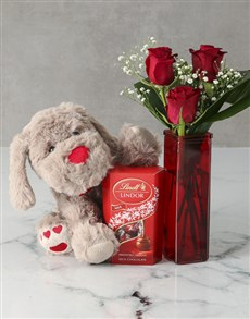 gifts: You are one in a Million Red Rose Vase !