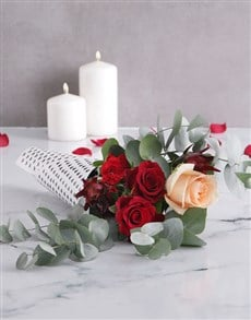 gifts: Red Rose Cone!