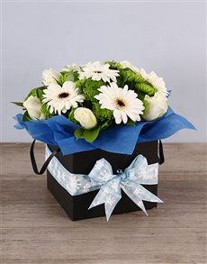 flowers: Baby Boy Floral Box!
