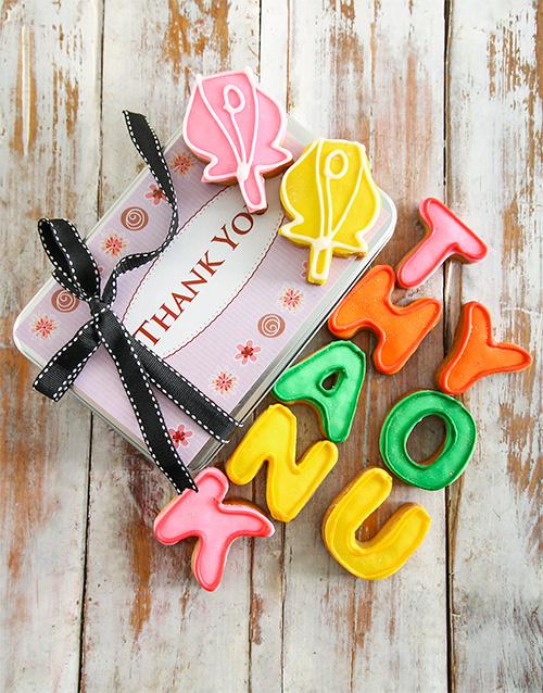 birthday: Thank You Cookie Tin !