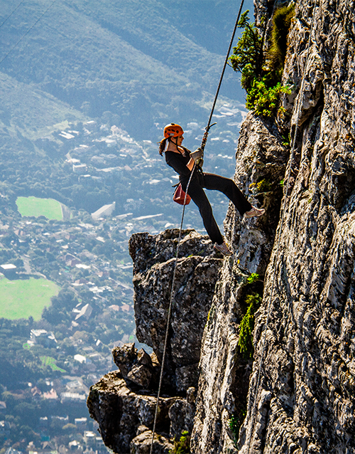 engagement: Table Mountain Abseil!