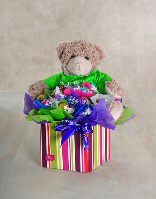 chocolate: Beary Delectable Edible Arrangement!