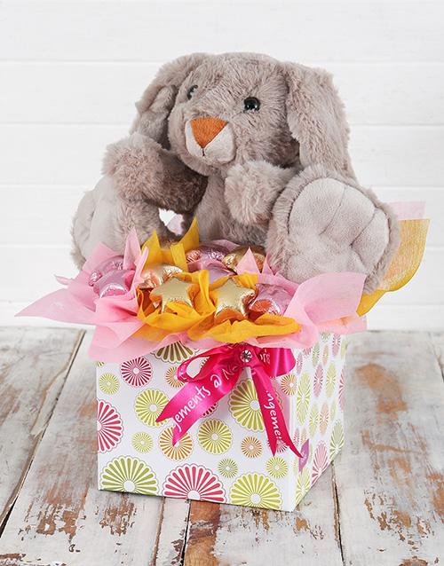 chocolate: Cuddly Rabbit and Choc Star Box!