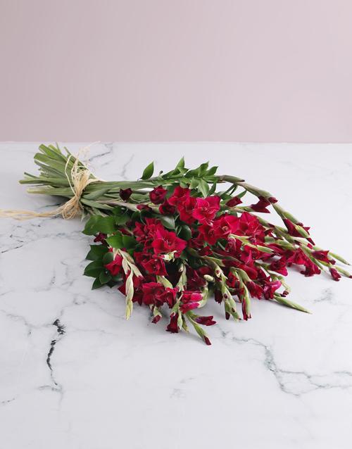 bouquets: Purple Gladiolus Bouquet!