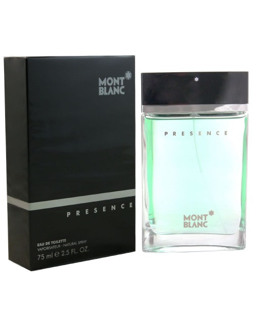 birthday: Mont Blanc Presence 75ml EDT!